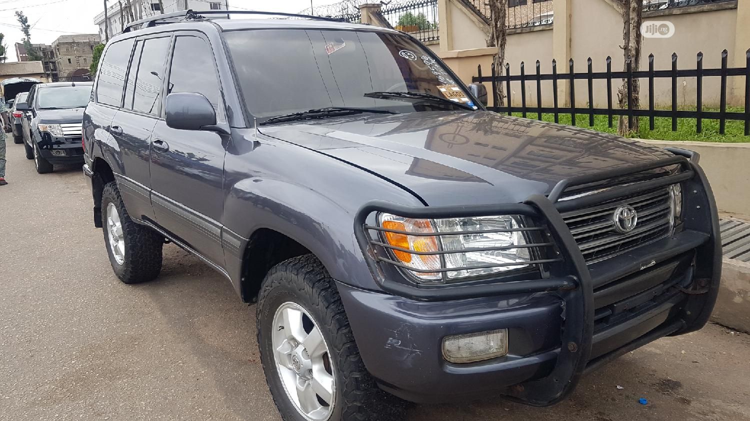 Toyota Land Cruiser 2003 3.0 D Automatic Gray | Cars for sale in Ikeja, Lagos State, Nigeria