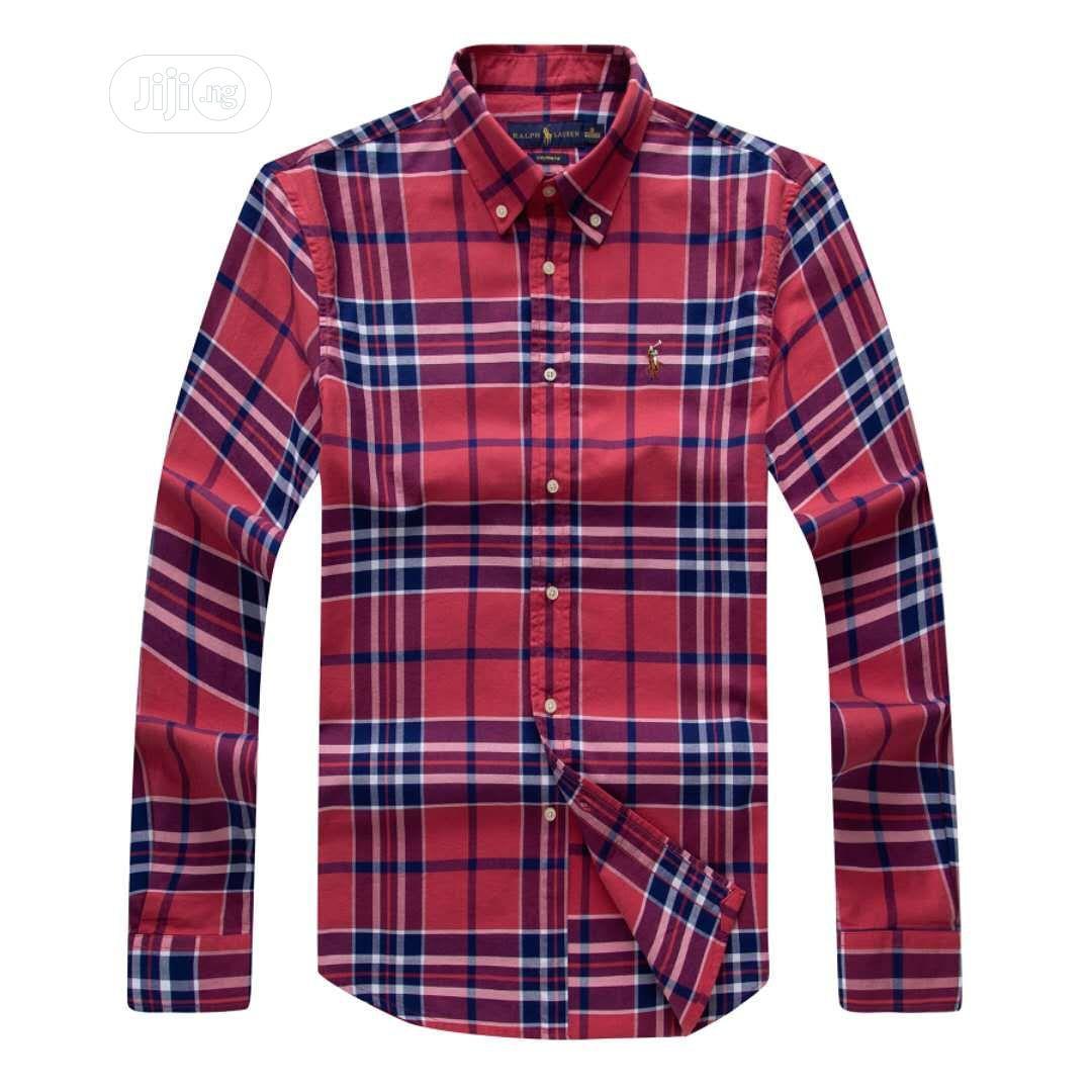 NEW Polo Ralph Lauren Designer Check Shirt. Best Quality