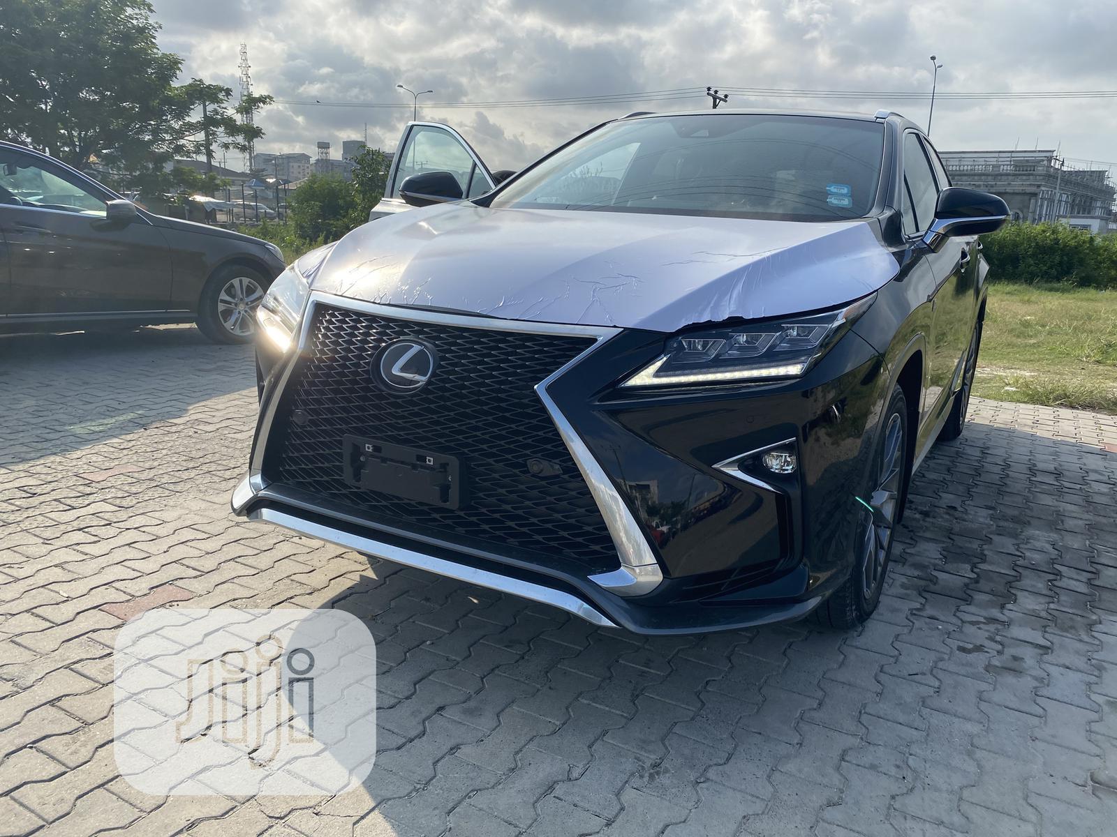 New Lexus RX 2019 Black
