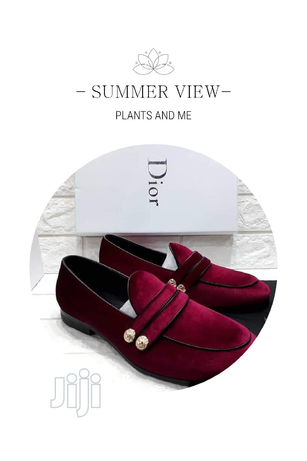 Quality Designer Dior Loafers | Shoes for sale in Surulere, Lagos State, Nigeria