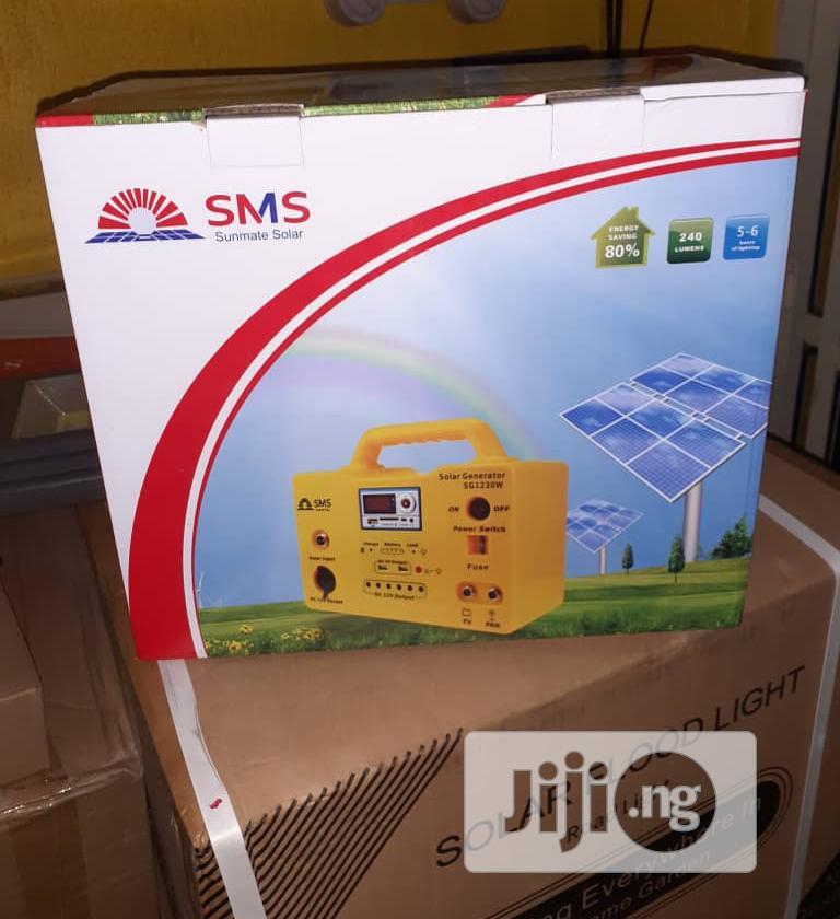 SMS Solar Generator 30W | Solar Energy for sale in Mushin, Lagos State, Nigeria