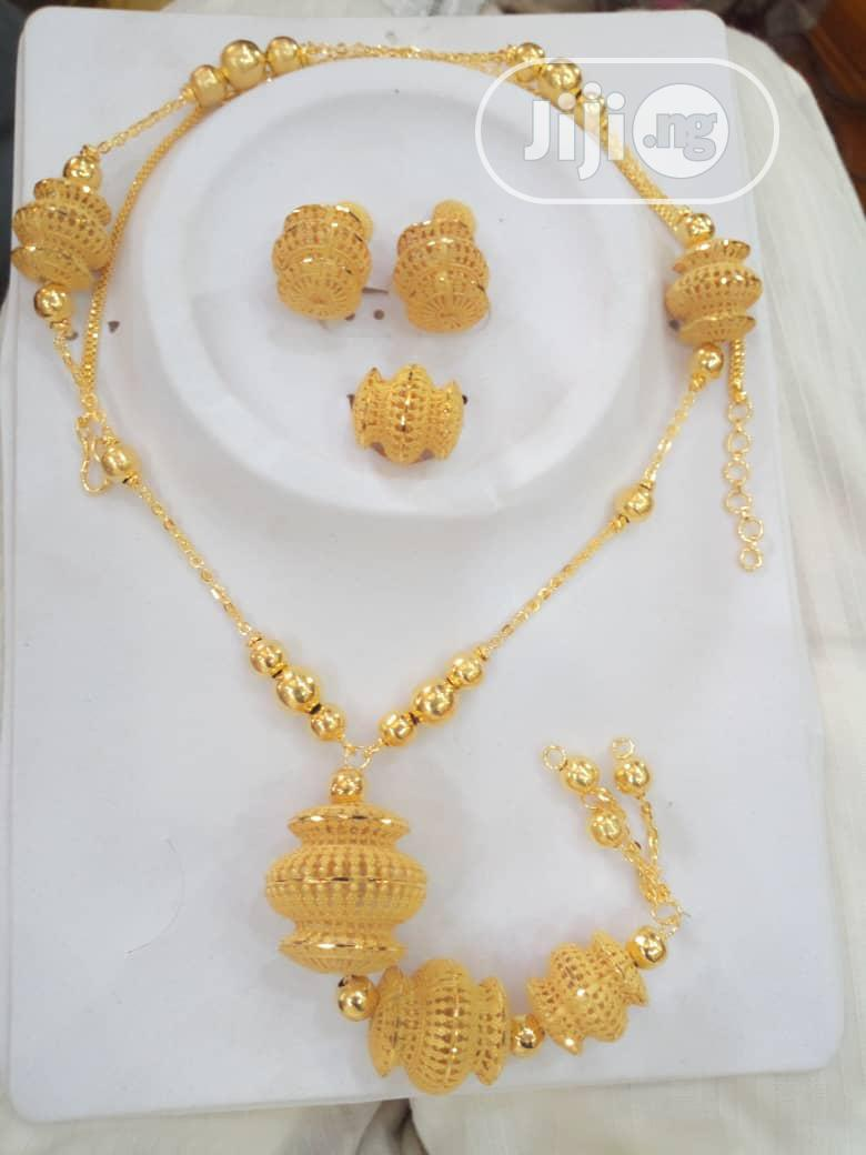 Gold Plated Necklace | Jewelry for sale in Wuse 2, Abuja (FCT) State, Nigeria