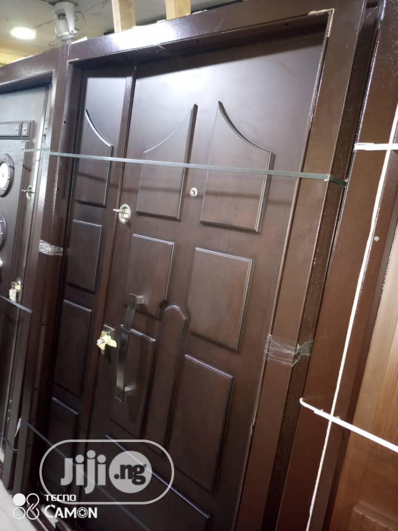 4ft Armored Turkish Luxury Security Door