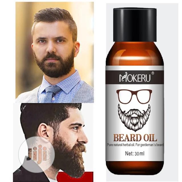 Organic Men Beard Growth Oil Products Hair | Hair Beauty for sale in Lekki, Lagos State, Nigeria