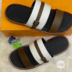 Real Leather Hermes Slippers   Shoes for sale in Lagos State, Lagos Island (Eko)