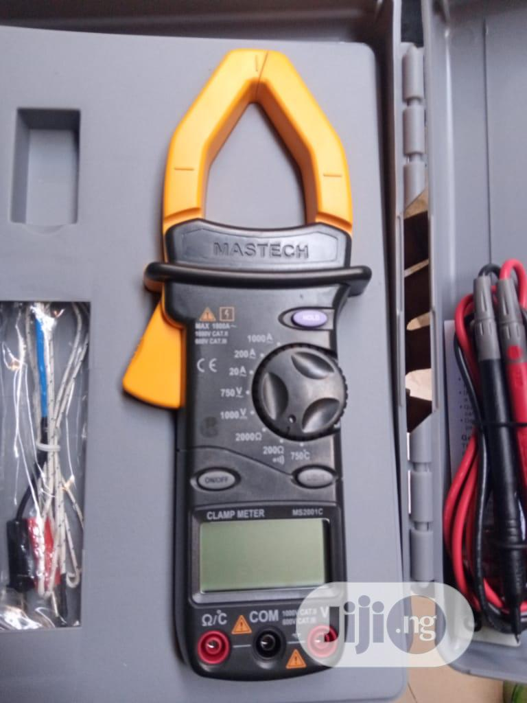 Mastech Digital Clamp Meter | Measuring & Layout Tools for sale in Ojo, Lagos State, Nigeria