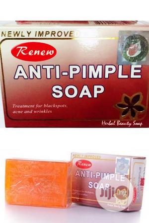 Renew Anti-pimples Herbal Beauty Soap. Pack Of 3. | Bath & Body for sale in Lagos State, Amuwo-Odofin