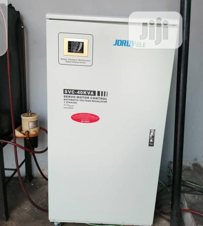 JORDY-ELE Industry Stabilizer 40kva Single Phase