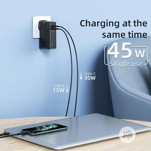 Baseus GEN Charger 2in1 45W Charger And Power Bank 10000mah   Accessories for Mobile Phones & Tablets for sale in Lagos State, Ikeja