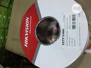 Hikvision CCTV Rg 59 Cable With Power( Pure Copper)-100m | Accessories & Supplies for Electronics for sale in Lagos State, Ikeja