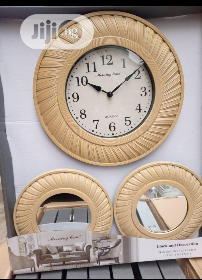 Archive: Wall Clocks And Mirror