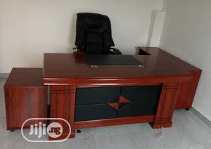 Super Quality Imported Executive Office Table With Chair   Furniture for sale in Lagos State, Gbagada