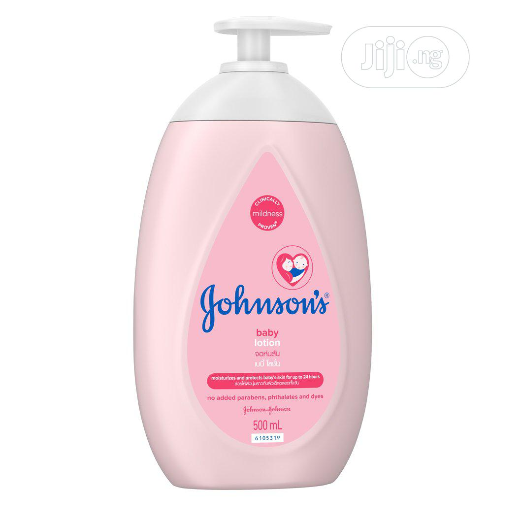 Archive: Johnson's Baby Lotion (U.S .A )
