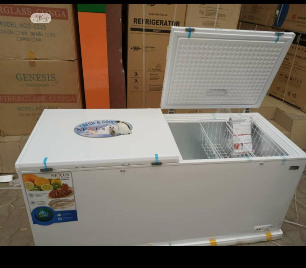 Original Brand New Haier Thermocool Freezer 419L | Kitchen Appliances for sale in Ojo, Lagos State, Nigeria