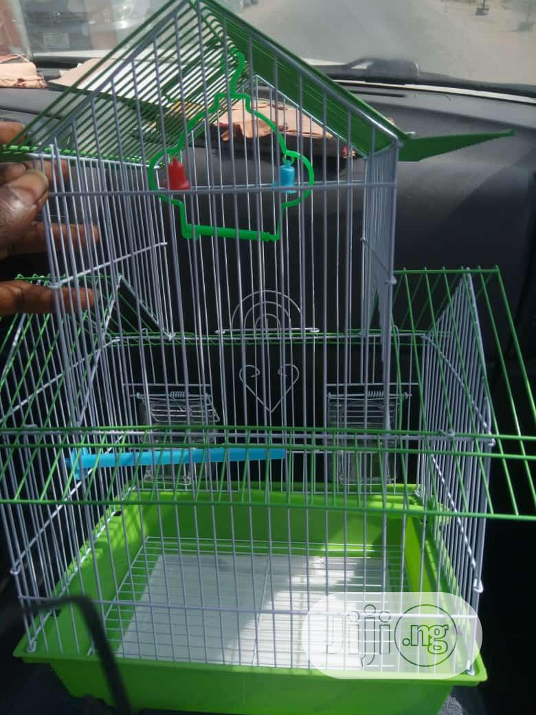 Parrot Cage (Imported) | Pet's Accessories for sale in Alimosho, Lagos State, Nigeria