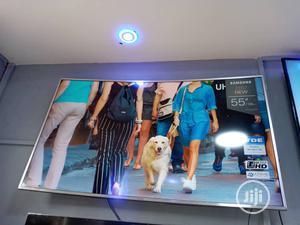Samsung Smart 55inch UHD 4k HDR TV Curve Screen MU7000 | TV & DVD Equipment for sale in Lagos State, Ojota