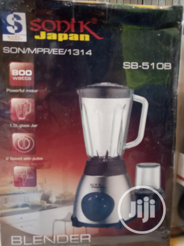 800 Watts Sonik Japanese Blender