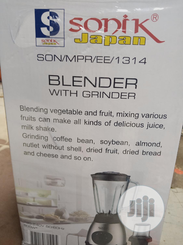 800 Watts Sonik Japanese Blender   Kitchen Appliances for sale in Wuse, Abuja (FCT) State, Nigeria