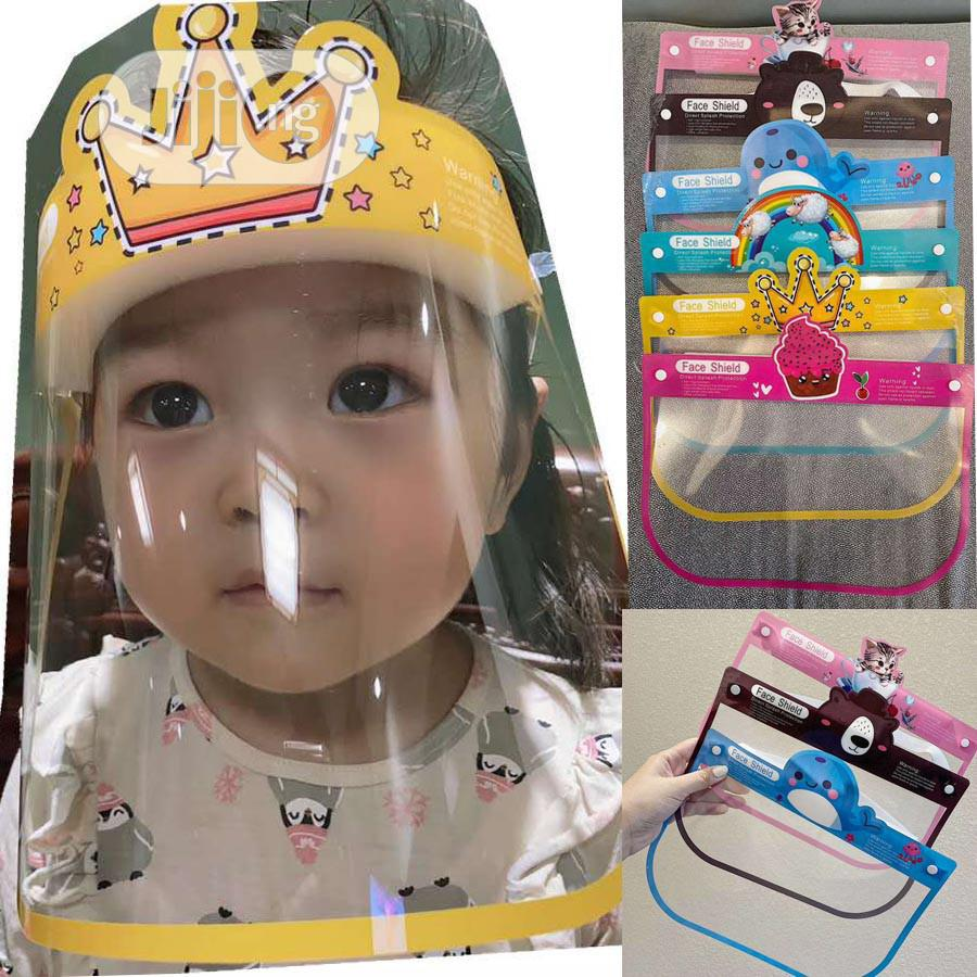 Face Shield For Kids | Children's Gear & Safety for sale in Lagos Island (Eko), Lagos State, Nigeria