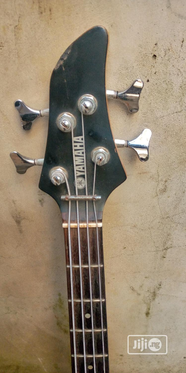 Solid Yamaha Bass Guitar | Musical Instruments & Gear for sale in Ikotun/Igando, Lagos State, Nigeria