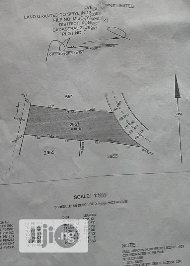 6.10hectares of Multipurpose Land for Sale