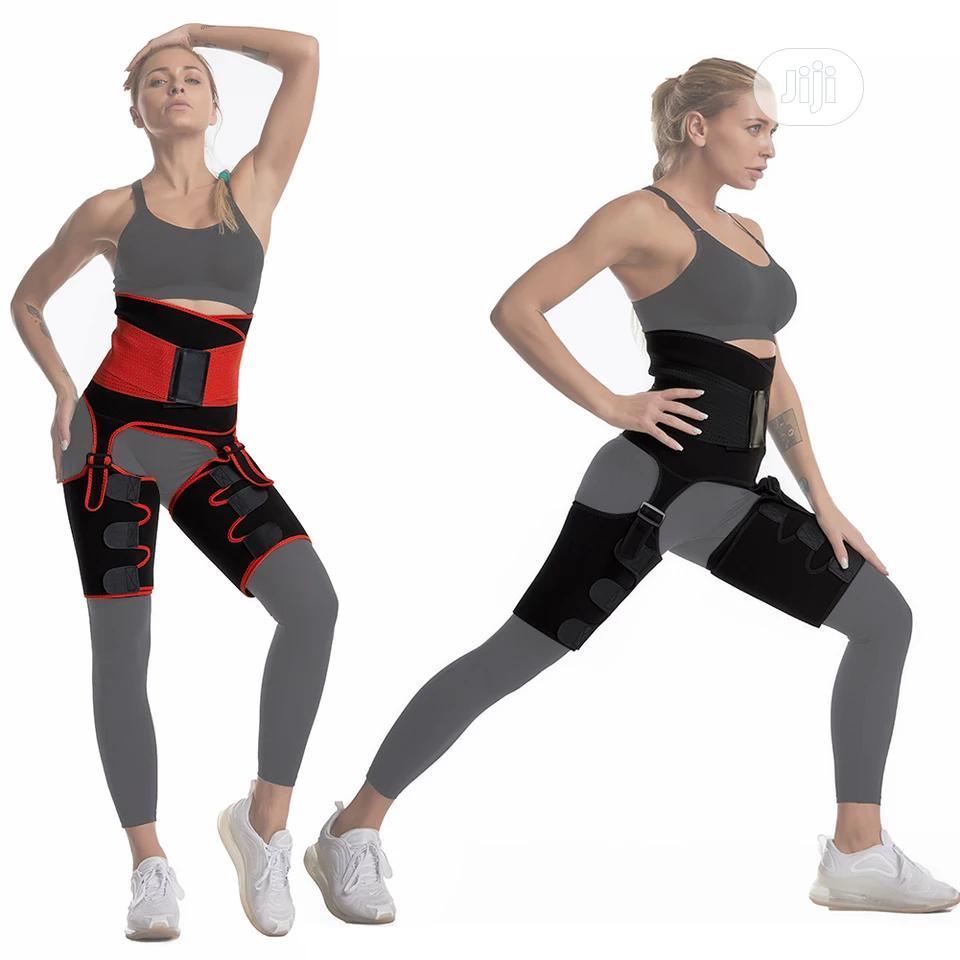 Waist Trainer, Thigh Shaper and Butt Lifter 3 in 1 Belt