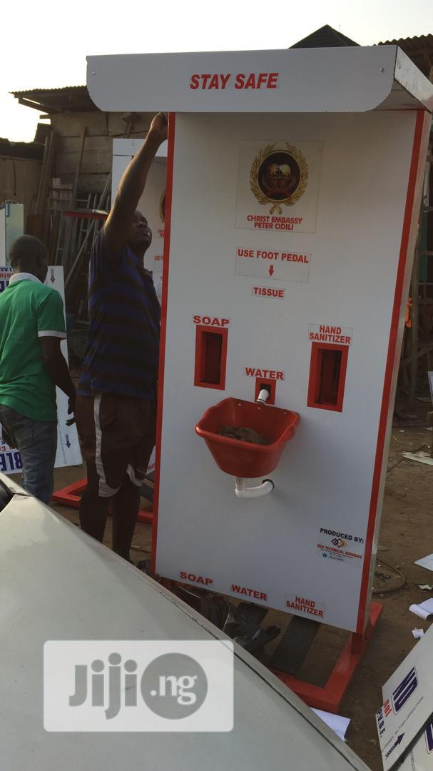 Foot Operated Safety Booth | Safety Equipment for sale in Alimosho, Lagos State, Nigeria