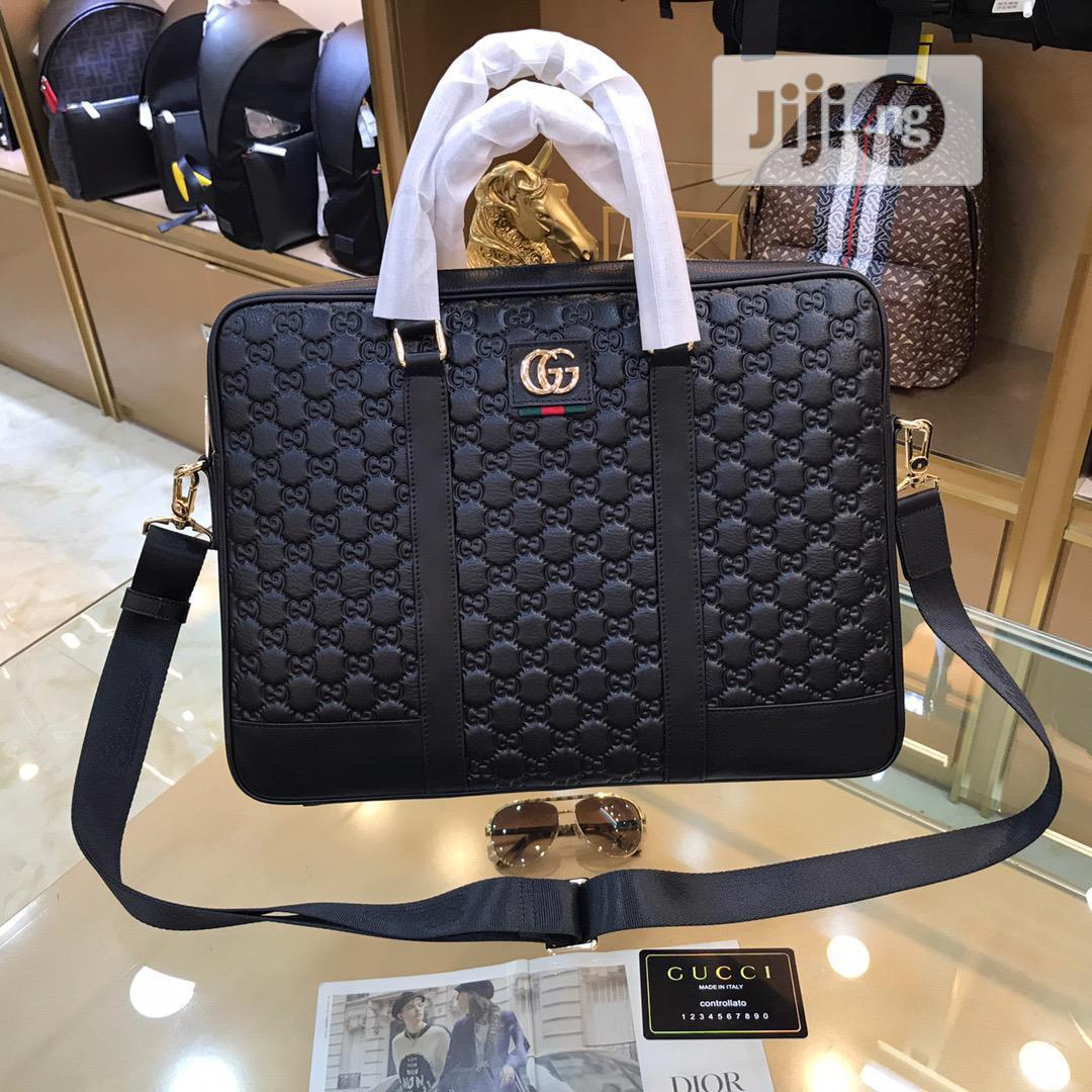 Quality Leather Gucci Bag