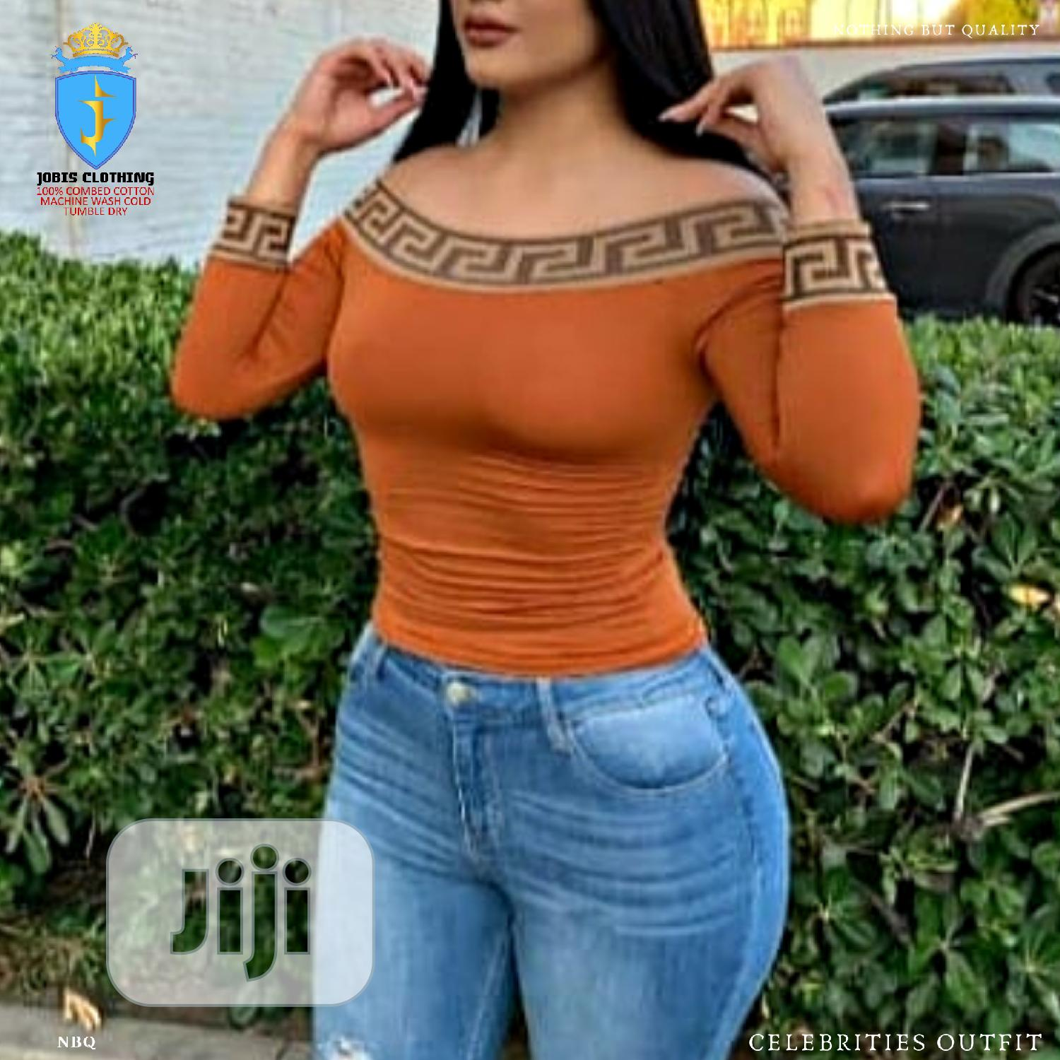 3 Pcs Female Versace Top | Clothing for sale in Victoria Island, Lagos State, Nigeria