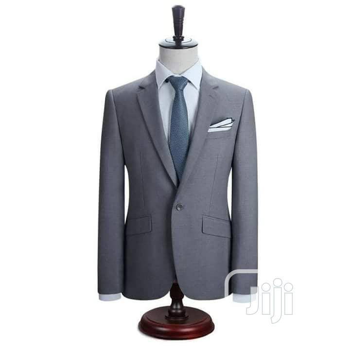 Gray and Royal Blue Suits
