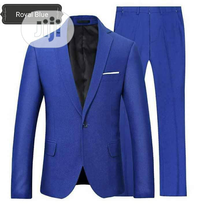 Gray and Royal Blue Suits | Clothing for sale in Orile, Lagos State, Nigeria