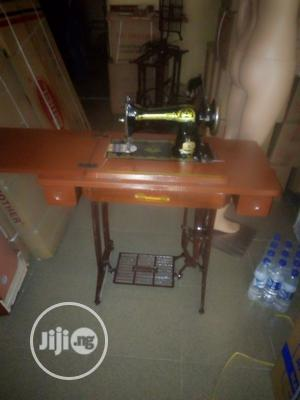 Original Butterfly Dmstic Sewing Machine On Folding Table | Home Appliances for sale in Lagos State, Mushin
