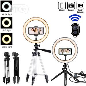 Tripod Stand Ring Light Profissional Photo Camera Phone | Accessories & Supplies for Electronics for sale in Lagos State, Lekki