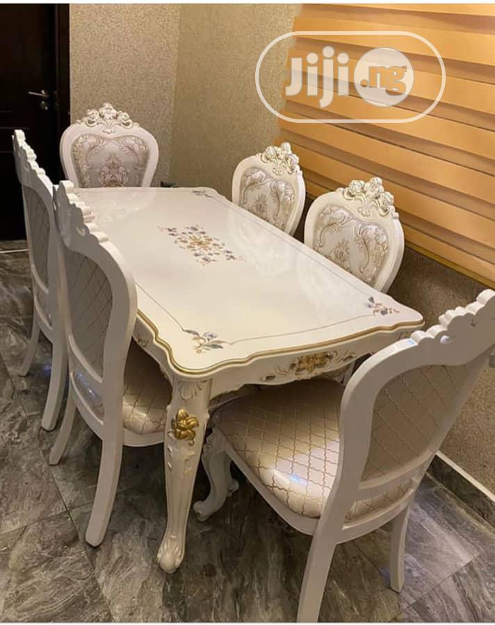 Executive Royal Marble Dining Table
