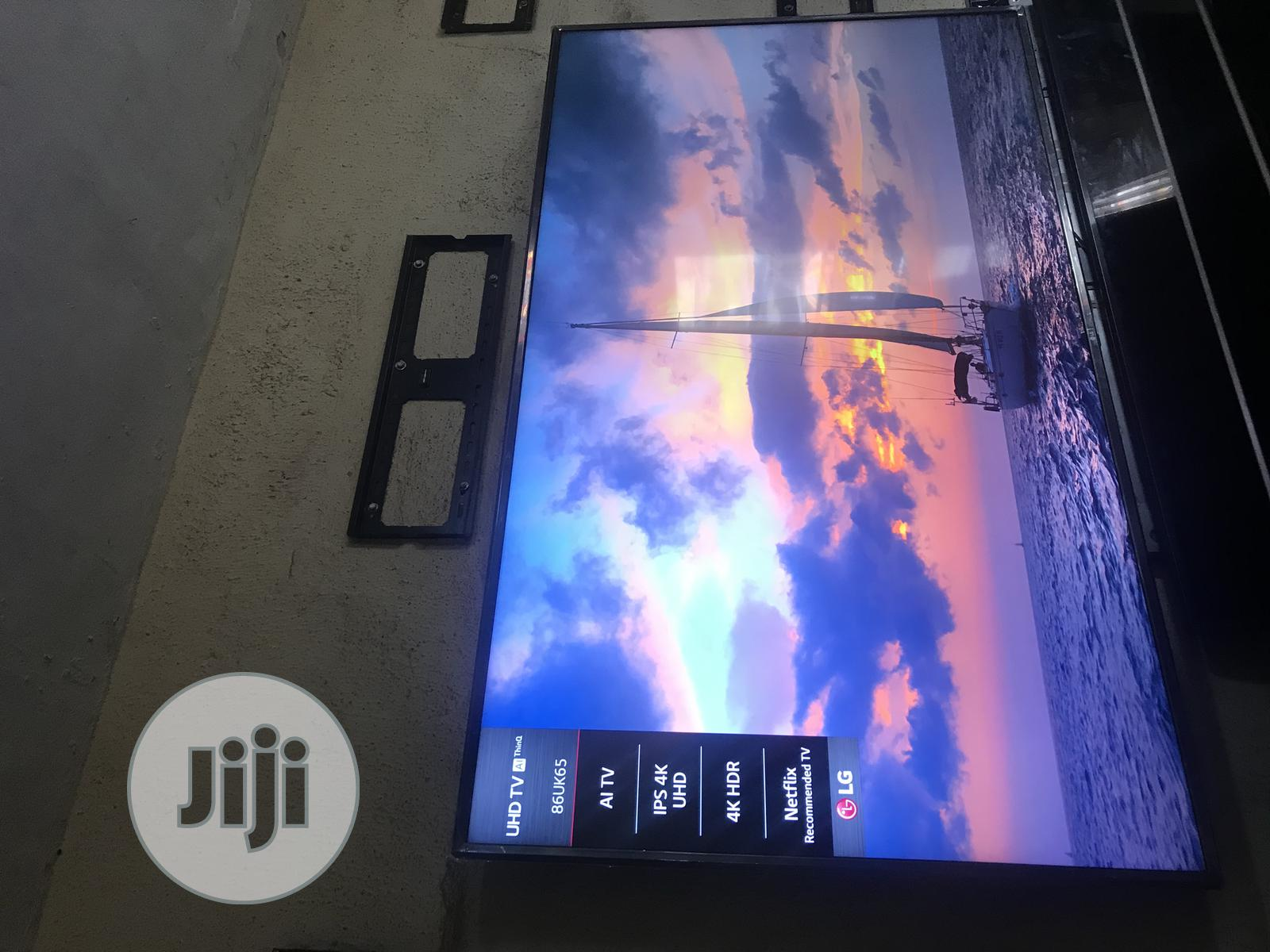 LG Ultra HD 4K TV 86 Inches   TV & DVD Equipment for sale in Ojo, Lagos State, Nigeria
