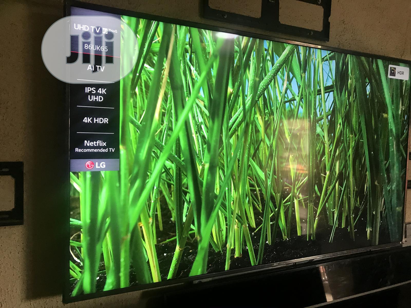 LG Ultra HD 4K TV 86 Inches