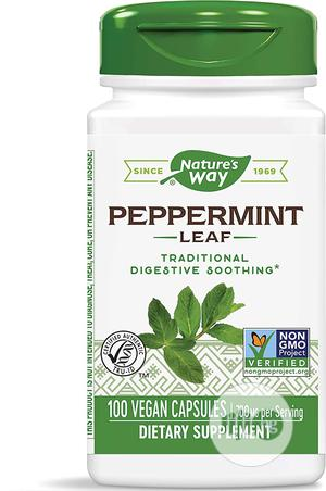 Nature's Way Premium Herbal Peppermint Leaf, 700 Mg, 100 Cnt | Vitamins & Supplements for sale in Lagos State, Lekki