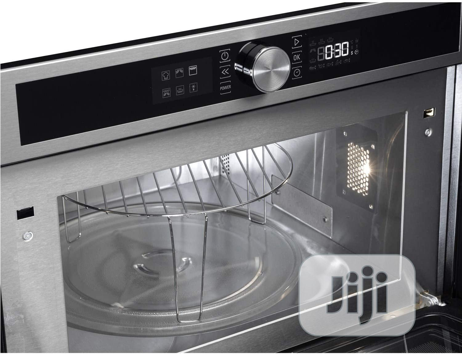 Hotpoint Class 4 MD454IXH 31L Built-In Microwave Oven | Kitchen Appliances for sale in Ojo, Lagos State, Nigeria