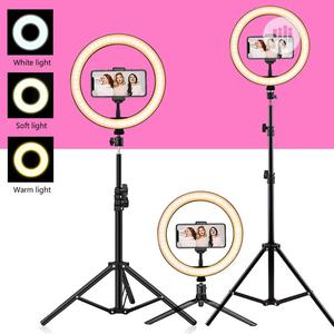Selfie Makeup Dimmable LED Ring Light With Tripod Stand   Accessories & Supplies for Electronics for sale in Lagos State, Ajah