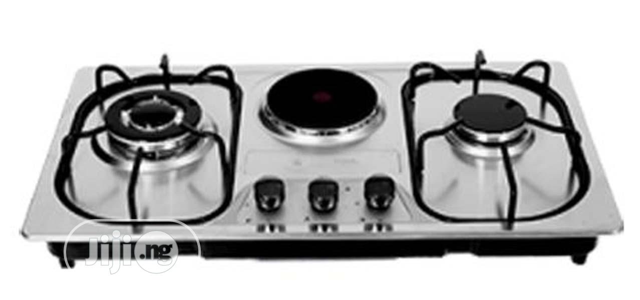 Haier Thermocool 2 Gas 1 Electric Burner Cooker