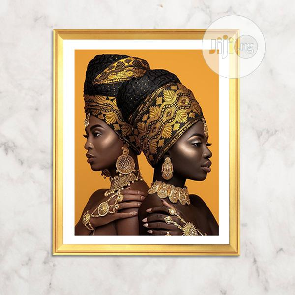 Archive: African Royalties Wall Art Picture Design