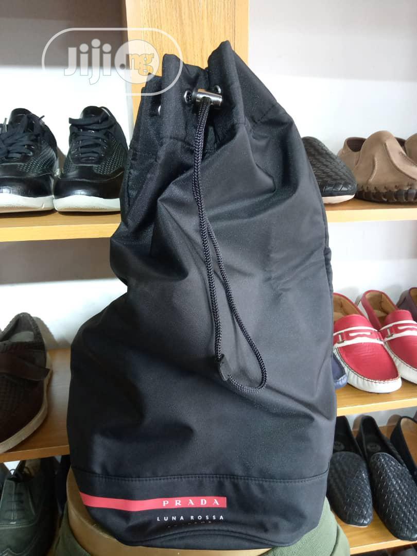 Prada Gym Bag