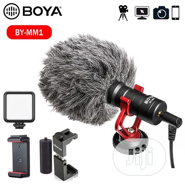 BOYA BY-MM1 Video Record Microphone For DSLR Camera Smtphone