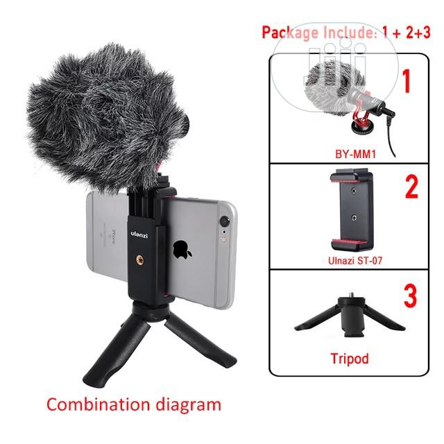 BOYA BY-MM1 Video Record Microphone For DSLR Camera Smtphone   Accessories & Supplies for Electronics for sale in Victoria Island, Lagos State, Nigeria