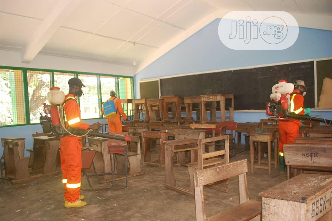 School Disinfection Fumigation