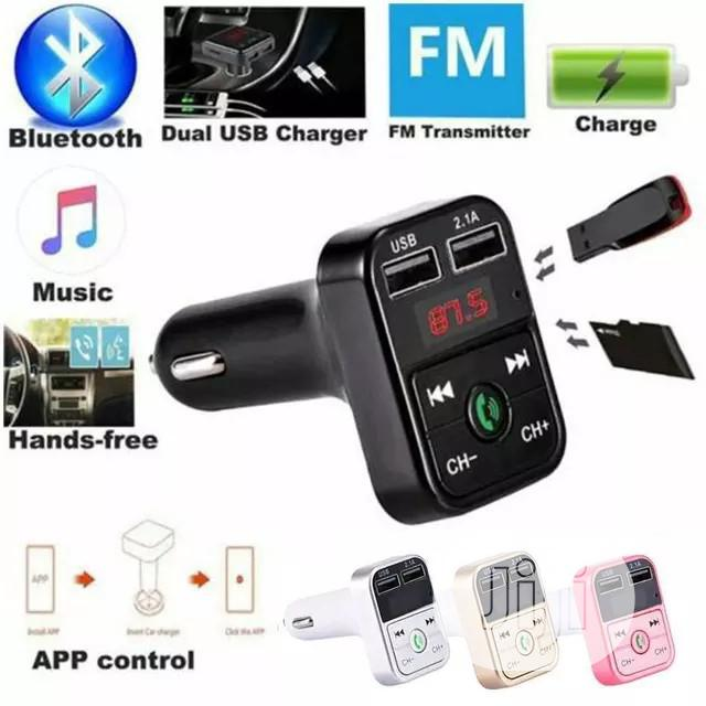 Wireless Bluetooth Car MP3 Player FM Transmitter | Audio & Music Equipment for sale in Ajah, Lagos State, Nigeria