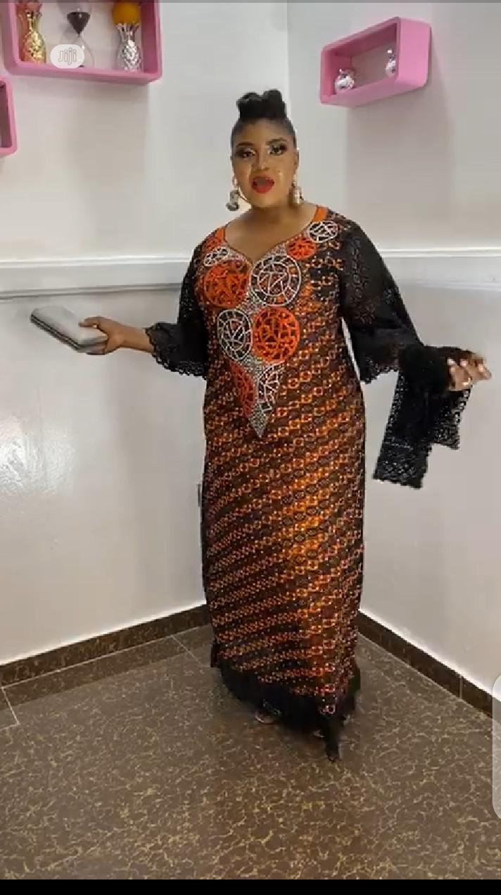 Senegalese Beautiful Gown   Clothing for sale in Ikeja, Lagos State, Nigeria