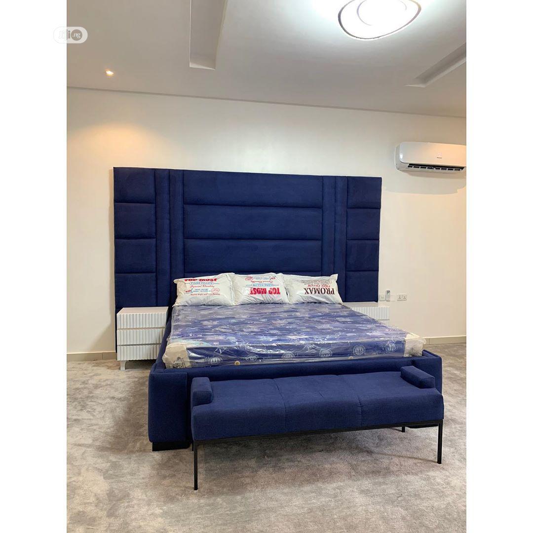 Blue Shade Bedframe