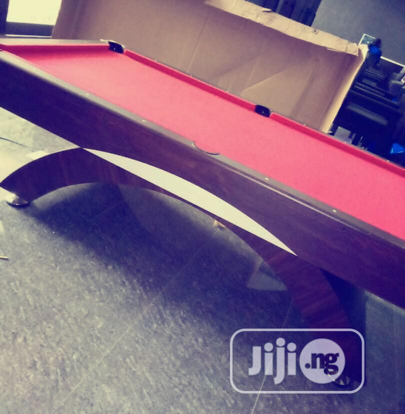New Red Fit Snooker Board