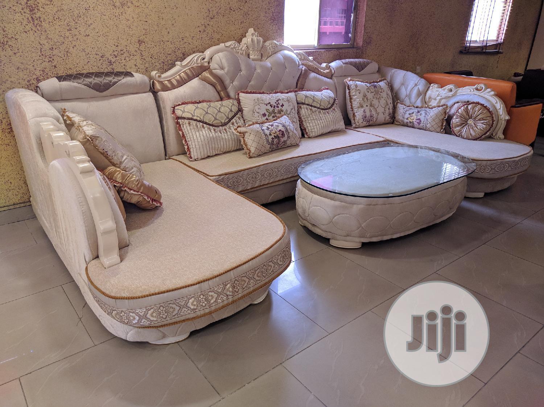 U Shape Royal Sofa Set